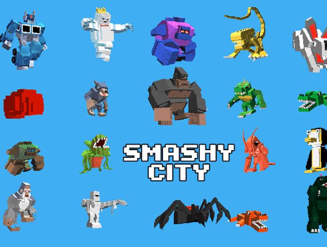 Играй Smashy City on pc 1