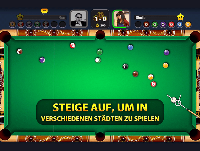 Spielen 8 Ball Pool on PC 5
