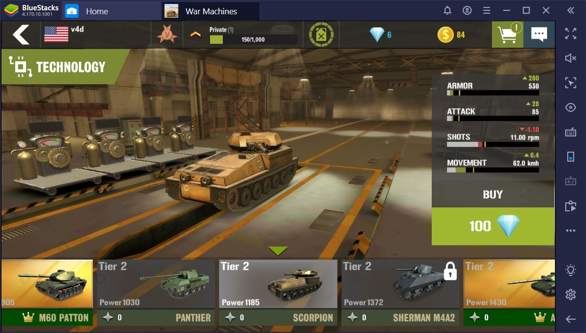 The Best Tanks in War Machines: Tank Battle