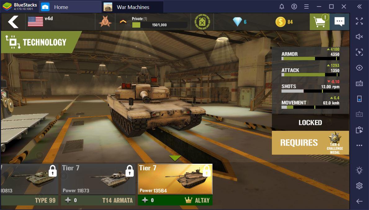 The Best Tanks in War Machines: Tank Battle on PC