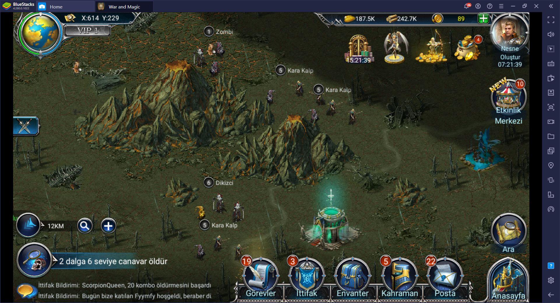 War and Magic: Dünya Haritasında Savaşma Rehberi