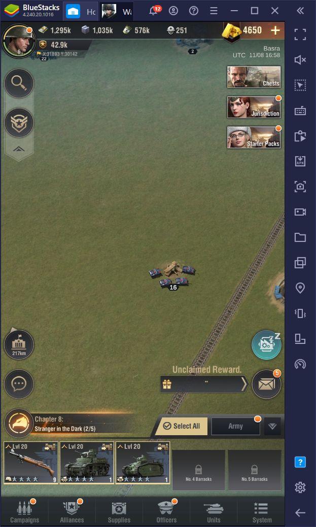 Warpath di PC – Cara Install dan Memainkan Game RTS ini di Mac atau PC Menggunakan BlueStacks