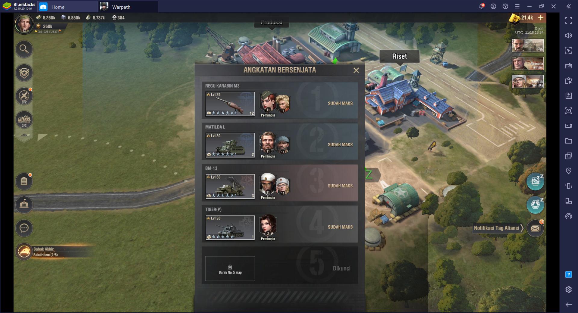 Warpath di PC – Panduan Newbie untuk Membangun Kamp dan Pelatihan Tentara