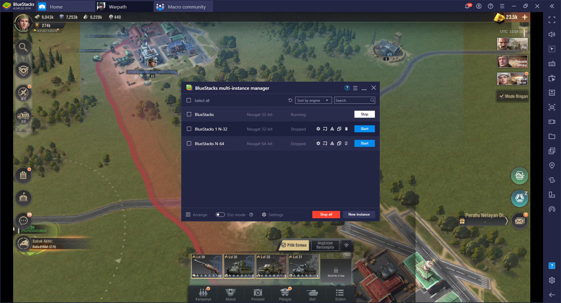 Warpath di PC – Cara Menggunakan Fitur BlueStacks untuk Menghancurkan Musuh