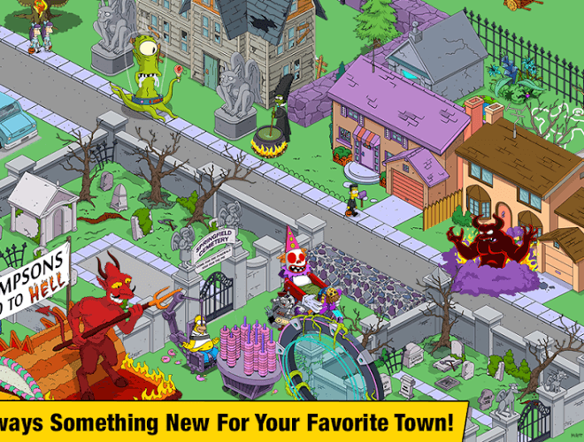 Spustit Simpsons Tapped Out on PC 17