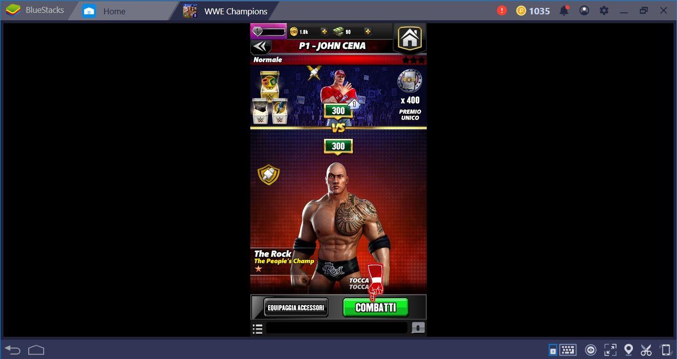 WWE Champions, gioca subito su Bluestacks con i tuoi campioni!