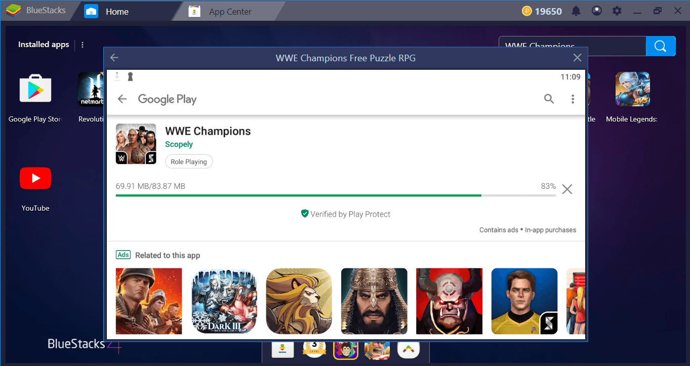 WWE Champions Review and BlueStacks Installation Guide