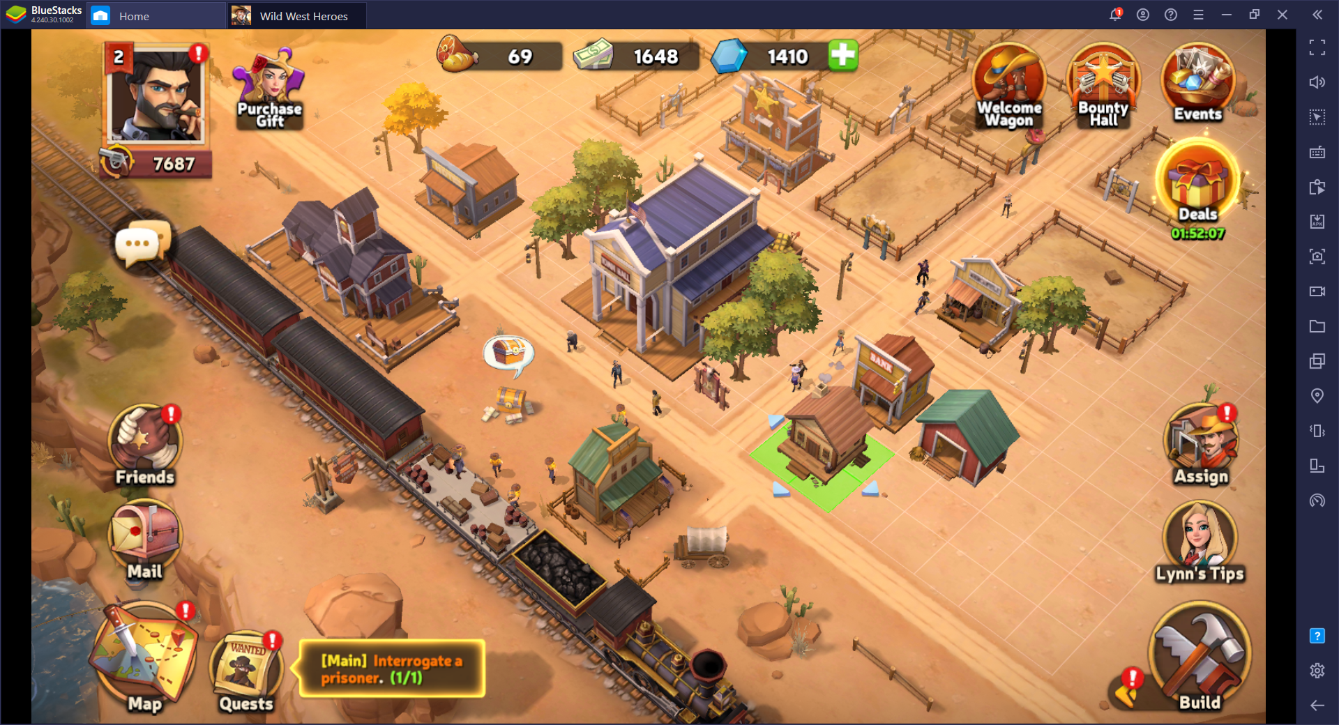 Selamatkan Wild West – Cara Main Wild West Heroes di PC dengan BlueStacks