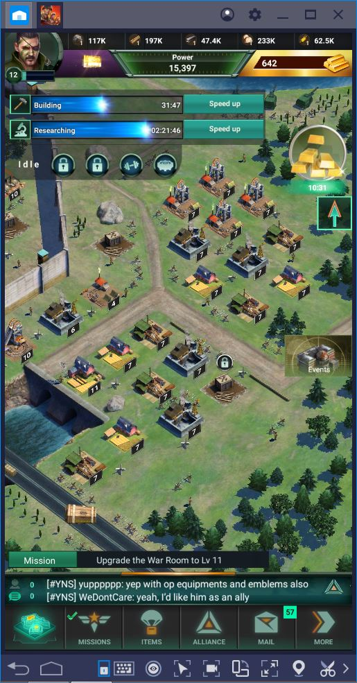 World War Rising: How to Grow Your Command Center Fast