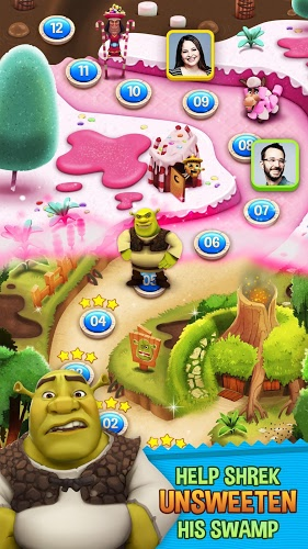 Chơi Shrek Sugar Fever on PC 2
