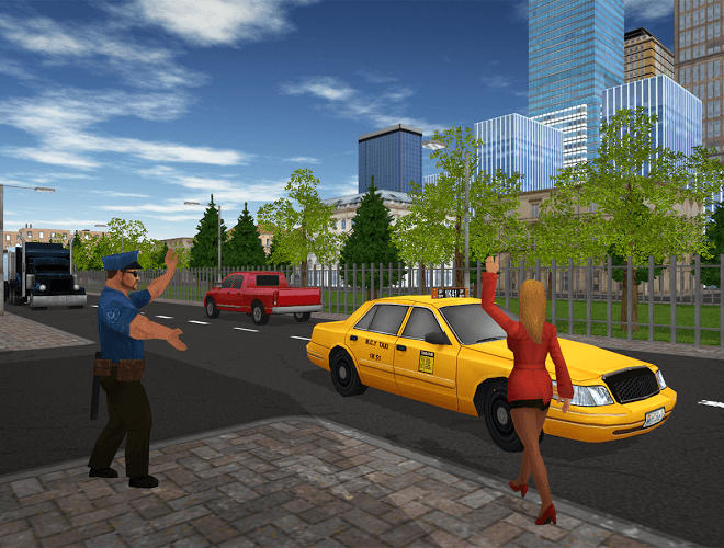Play Taxi Game on PC 2