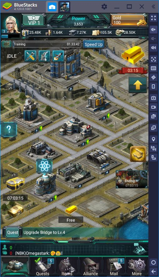 War Games - Commander: The Newest Conquest Game on BlueStacks