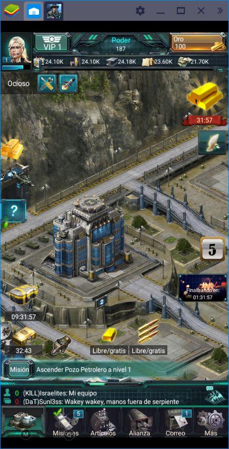War Games - Commander: El Nuevo Juego de Conquista en BlueStacks