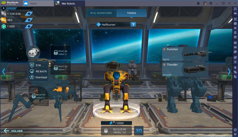 Los Mejores Robots y Armas en War Robots