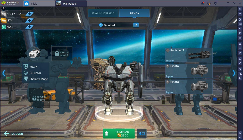 Guía Para Jugar War Robots en BlueStacks
