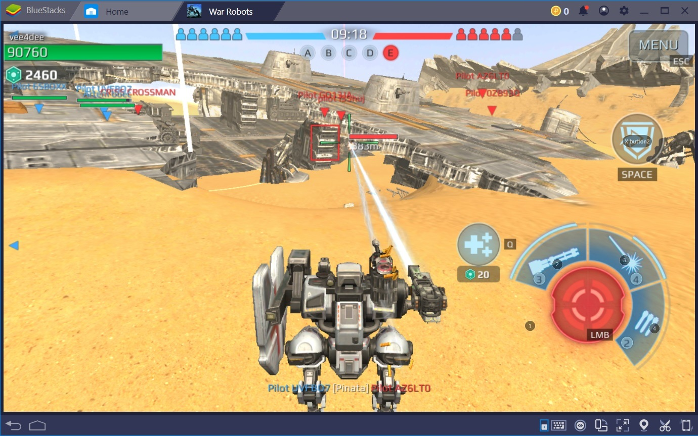 War Robots – Schlachtfeld-Taktiken, mit denen du das Spiel dominierst