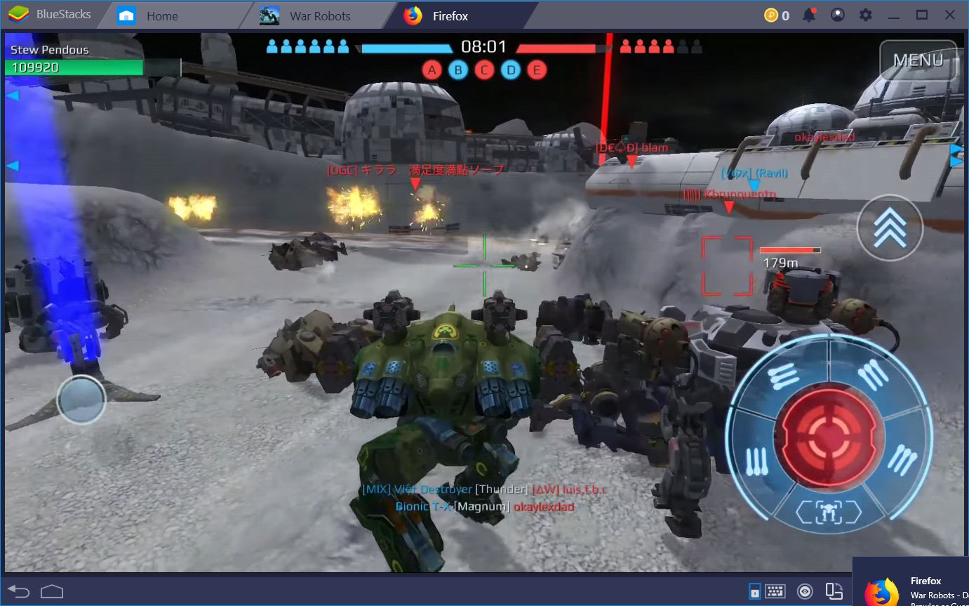 War Robots: Beginner and Middle Tier Bots