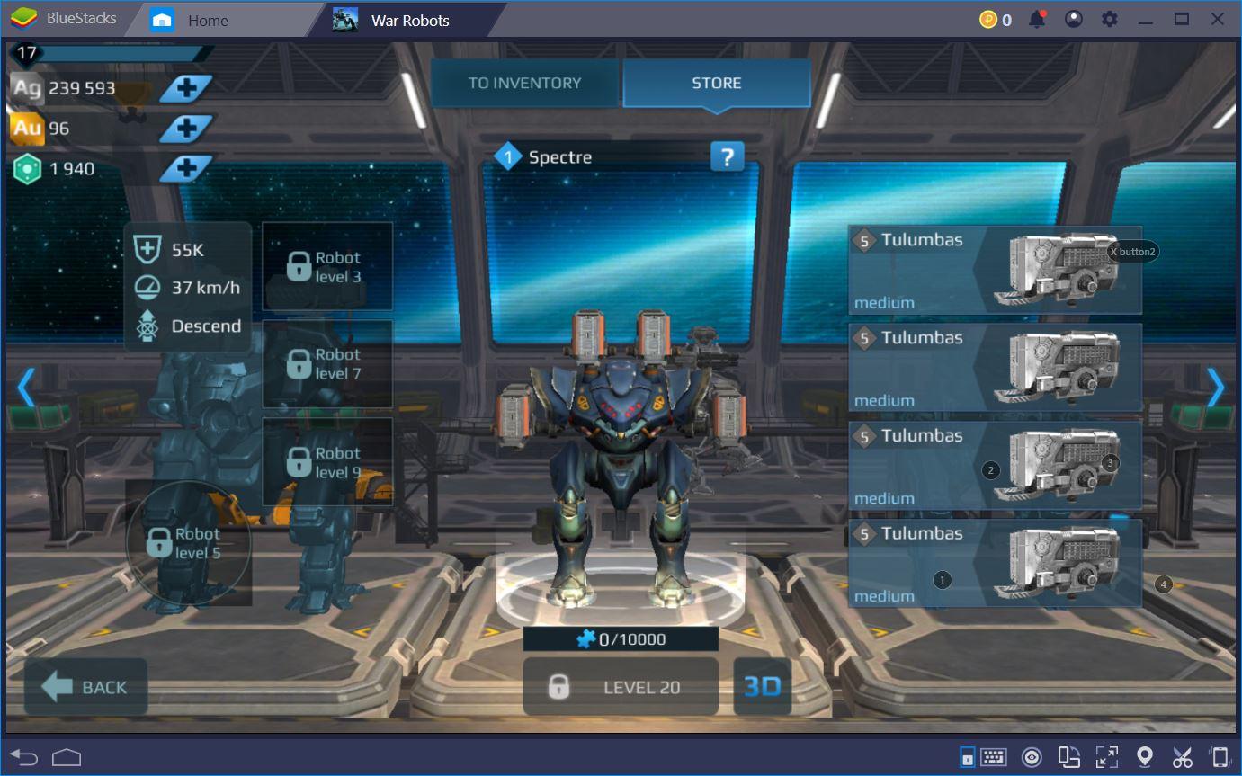 War Robots: أفضل الروبوتات والأسلحة لعام 2019