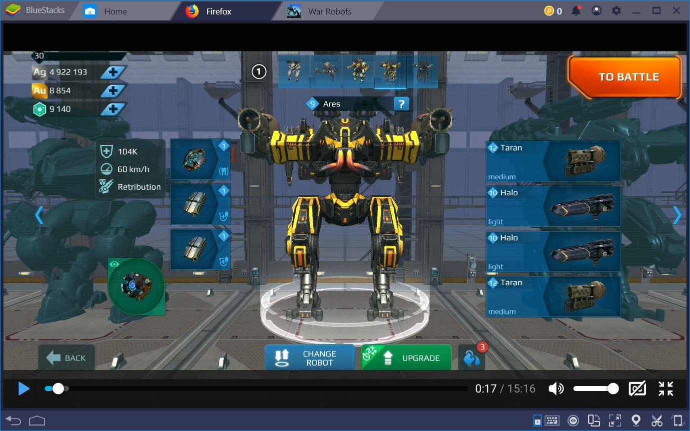 War Robots:أفضل روبوت يبني للسيطرة على ساحة المعركة