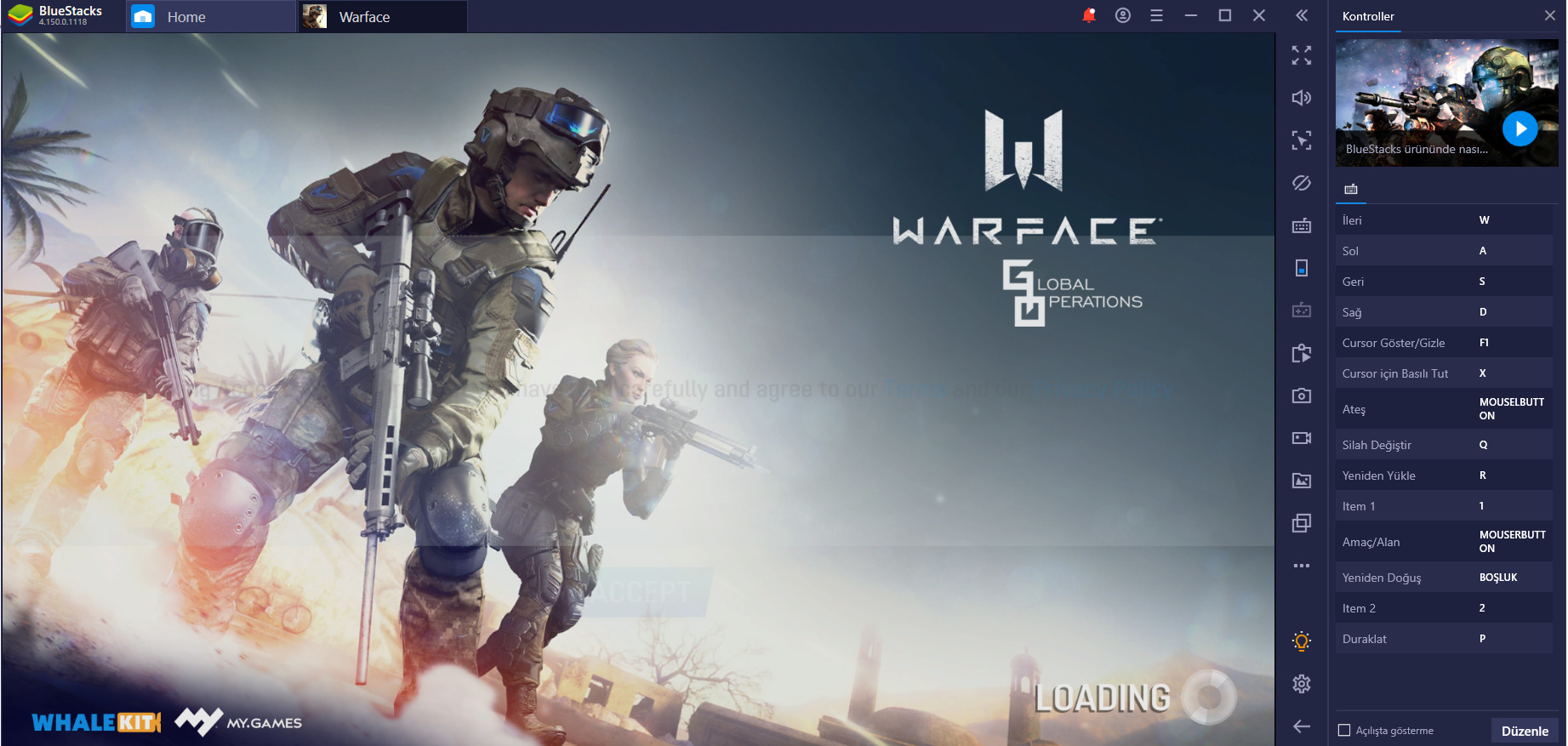 Warface: Global Operation Oyununa İlk Bakış – BlueStacks ile PC'de