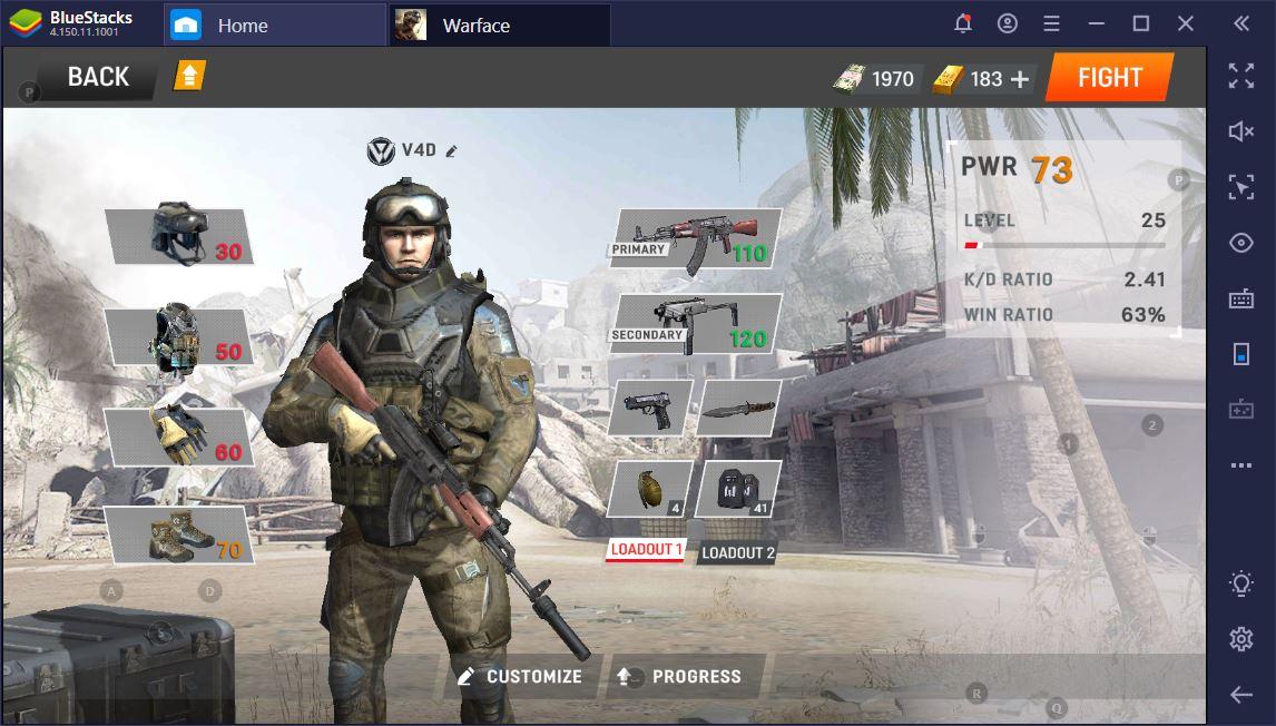 Warface Global Operations: Hızlı ve Doğru Şekilde Rank Atlamak PC'de BlueStacks