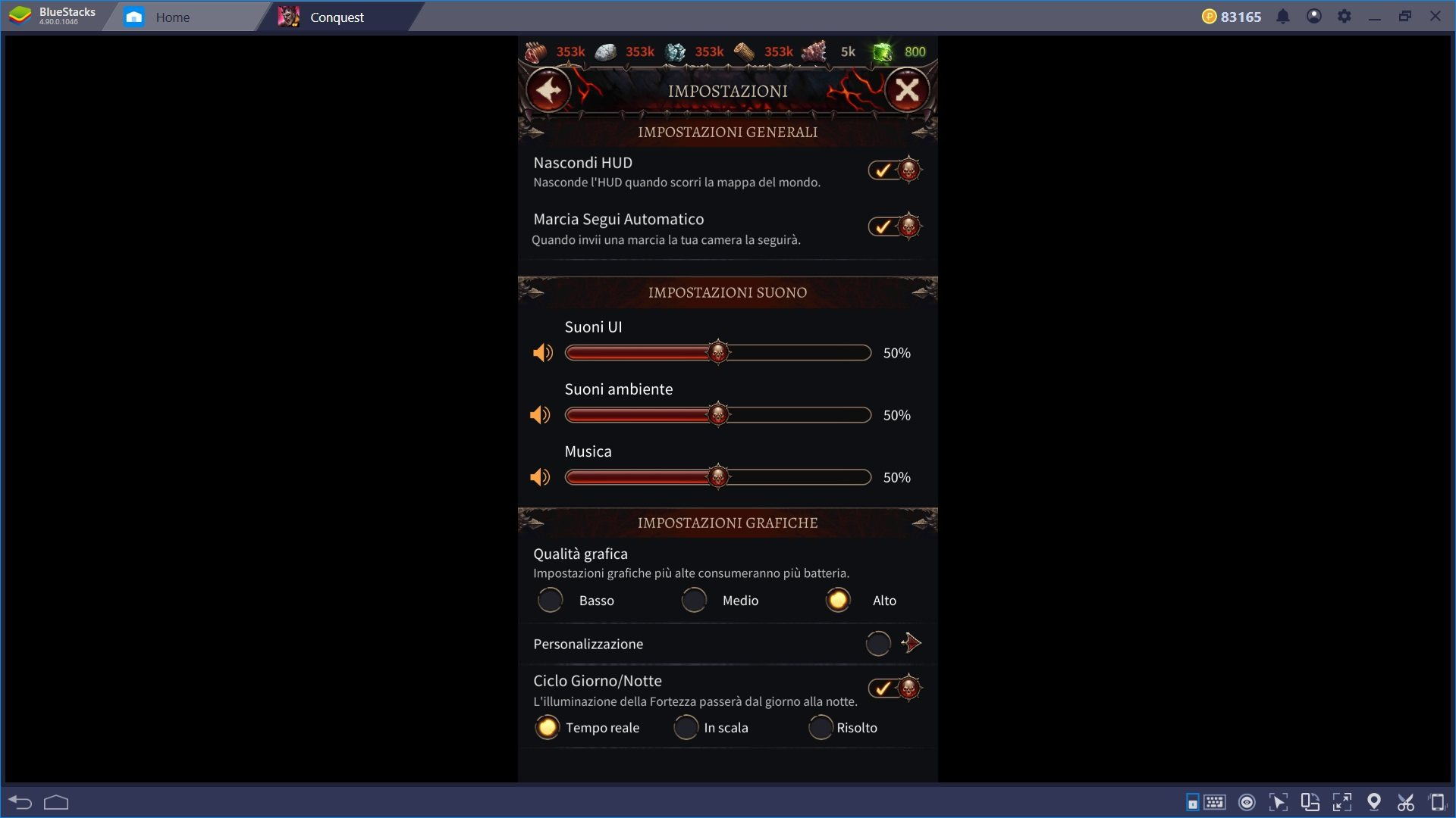 Gioca Warhammer Chaos & Conquest con Bluestacks 4