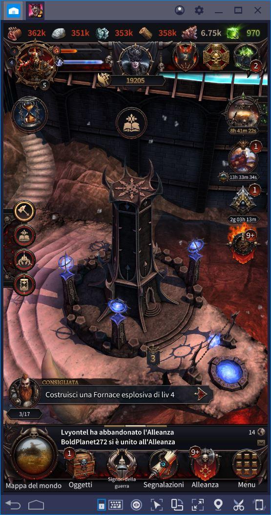 Come aumentare la Potenza in Warhammer: Chaos & Conquest