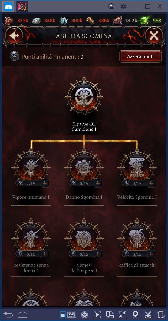 Come Potenziare il tuo Campione in Warhammer Chaos & Conquest