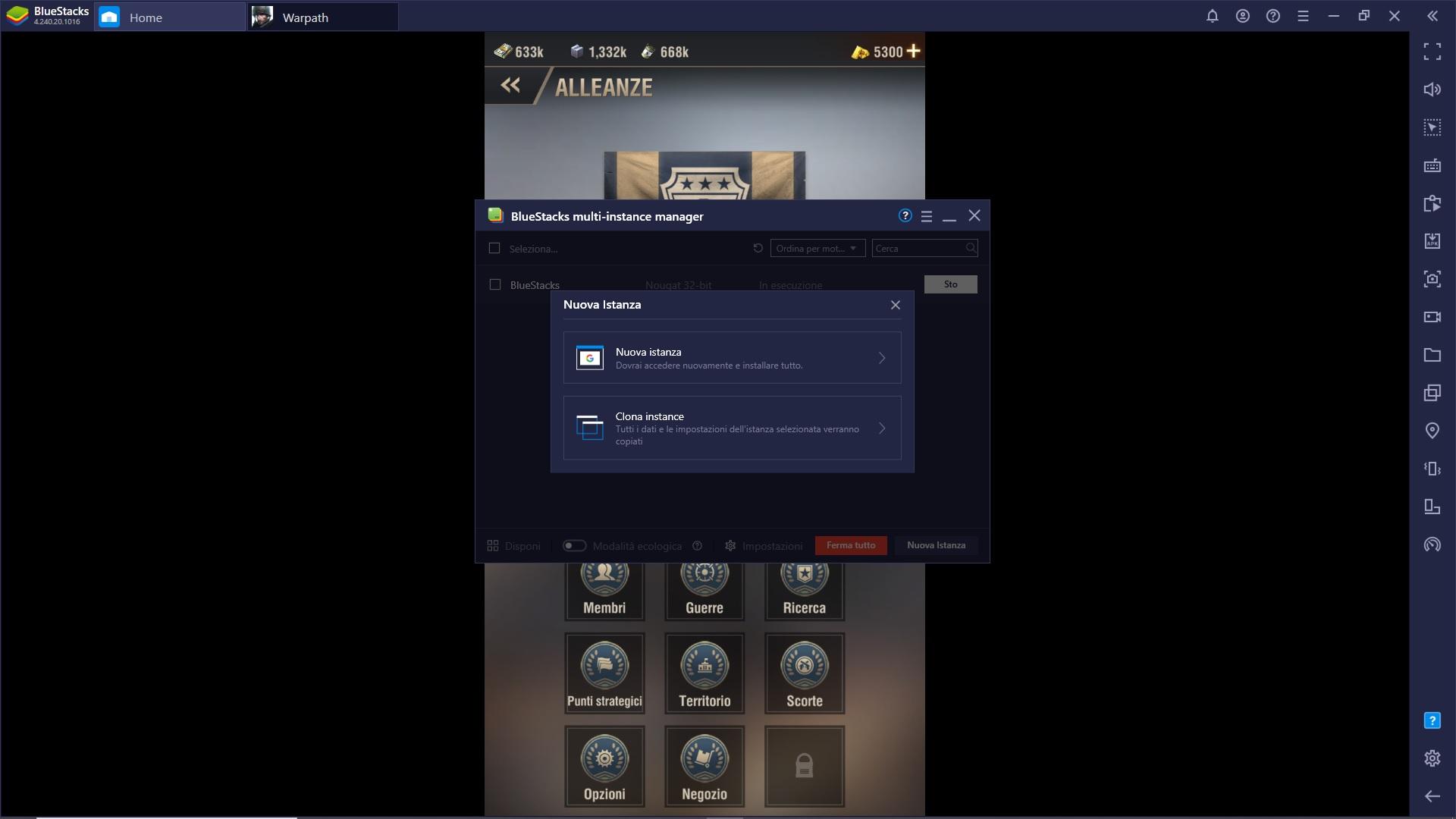 Migliora l'esperienza con Warpath grazie agli strumenti che offre BlueStacks