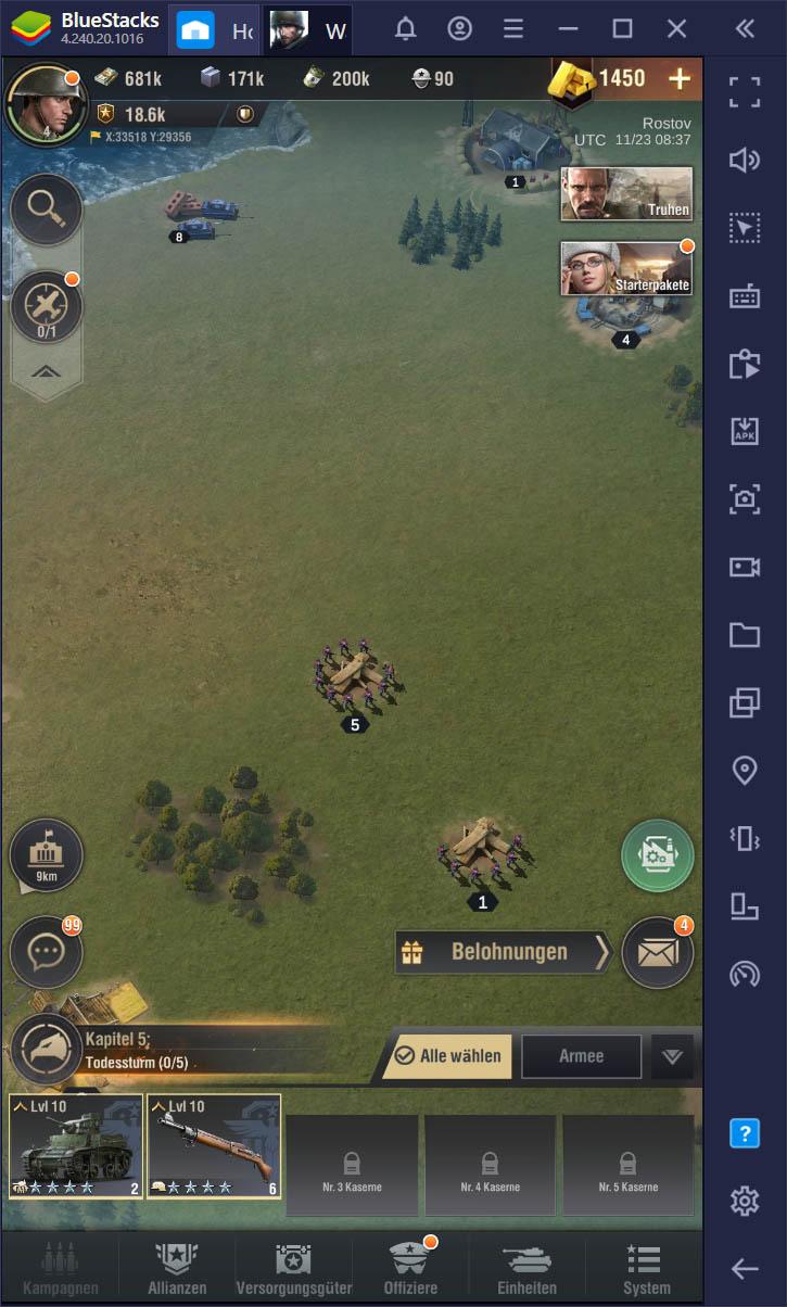 Warpath – So installierst und spielst du dieses neue mobile Strategiespiel auf deinem Mac oder PC