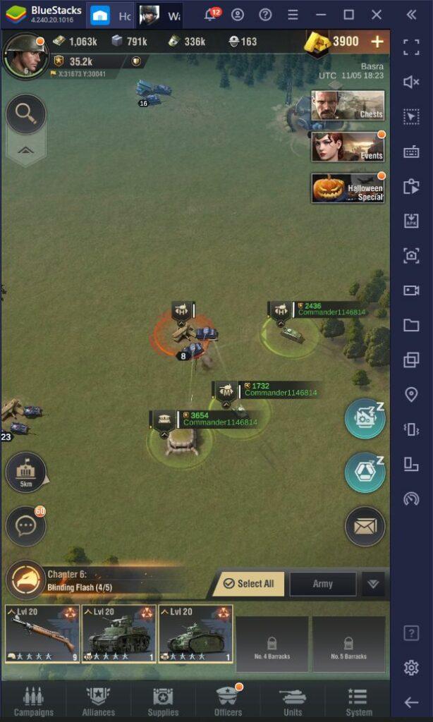 النصائح، و الحيل، و الخدع، و الإستراتيجيات في لعبة Warpath لبناء معسكرك و الفوز بالمعارك