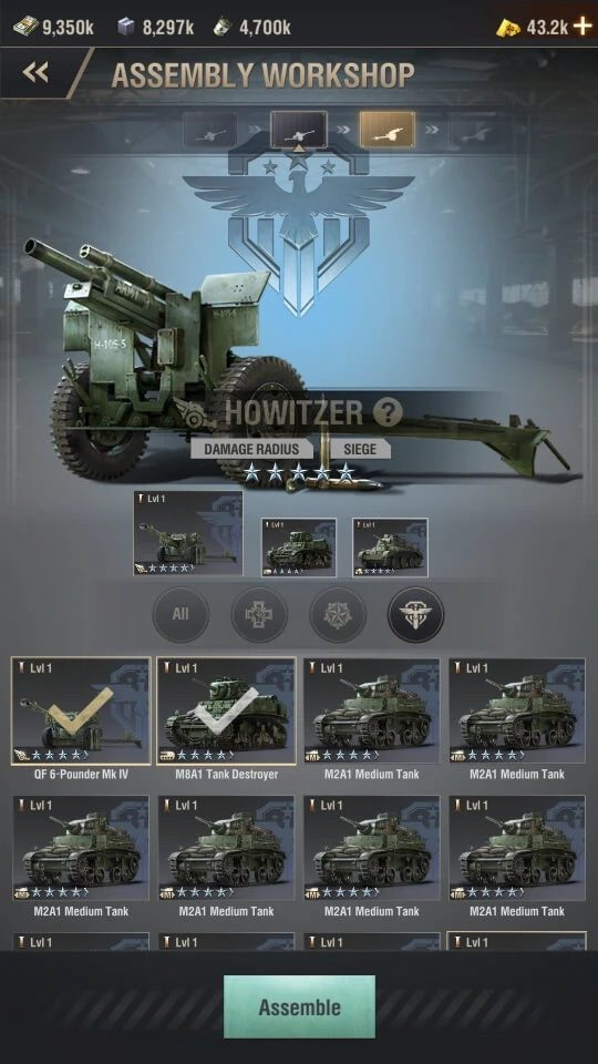 Hướng dẫn nâng cấp quân trong Warpath