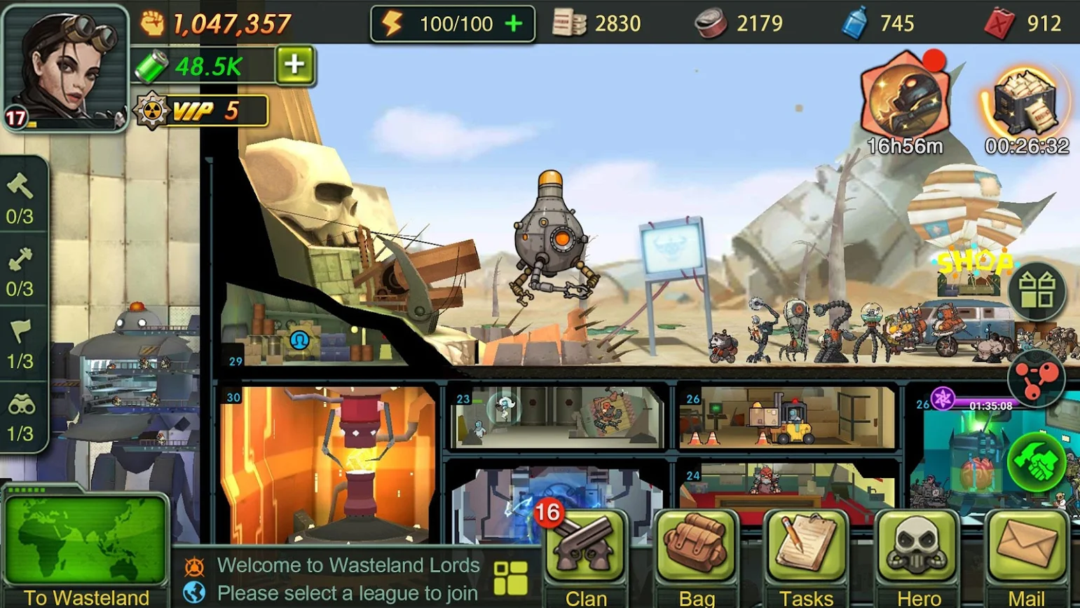 Wasteland Lords – Post-Apocalyptic Shelter Survival Game Releasing Later in December
