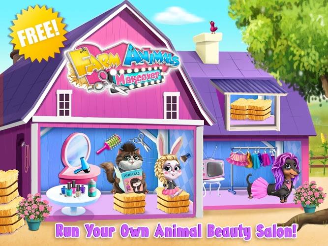 Play Farm Animals Makeover – Cute Virtual Pet Salon on PC 13