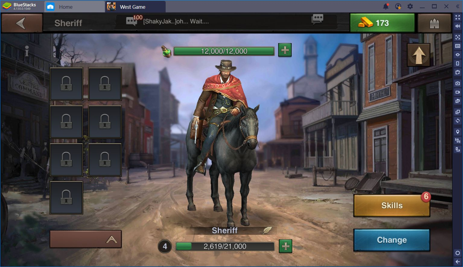 West Game: Conquest Gameplay in the Wild West