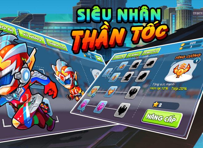 Chơi 5 Sieu Nhan Than Toc on PC 5