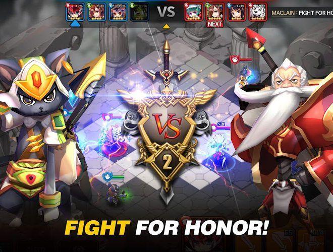Играй Fantasy War Tactics На ПК 20
