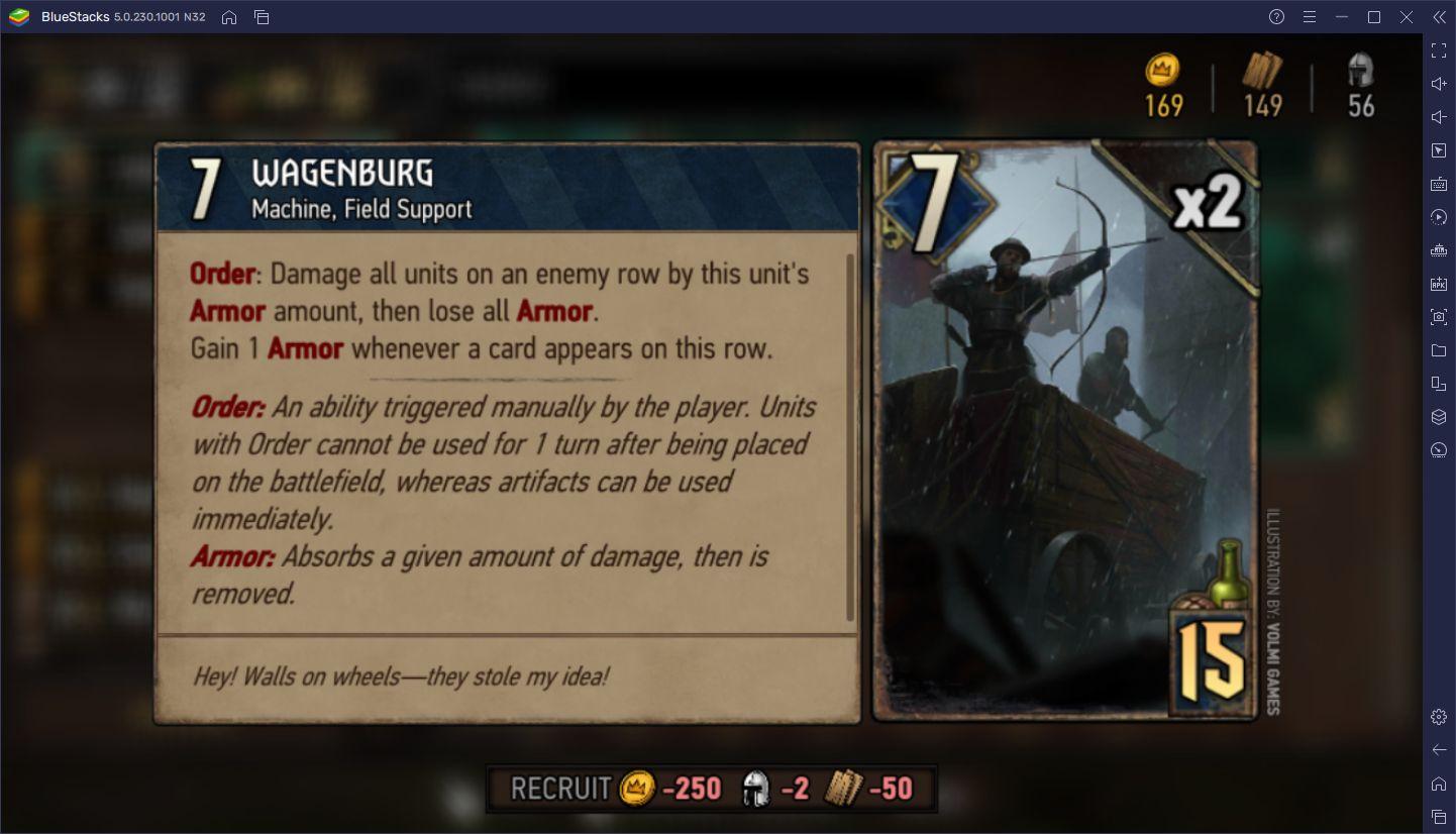 The Witcher Tales: Thronebreaker Kart Savaşları