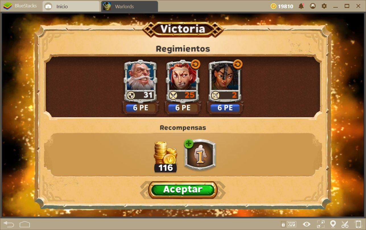 Estrategias Para Mejorar a tus Personajes Y Optimizar Formaciones en Warlords of Aternum