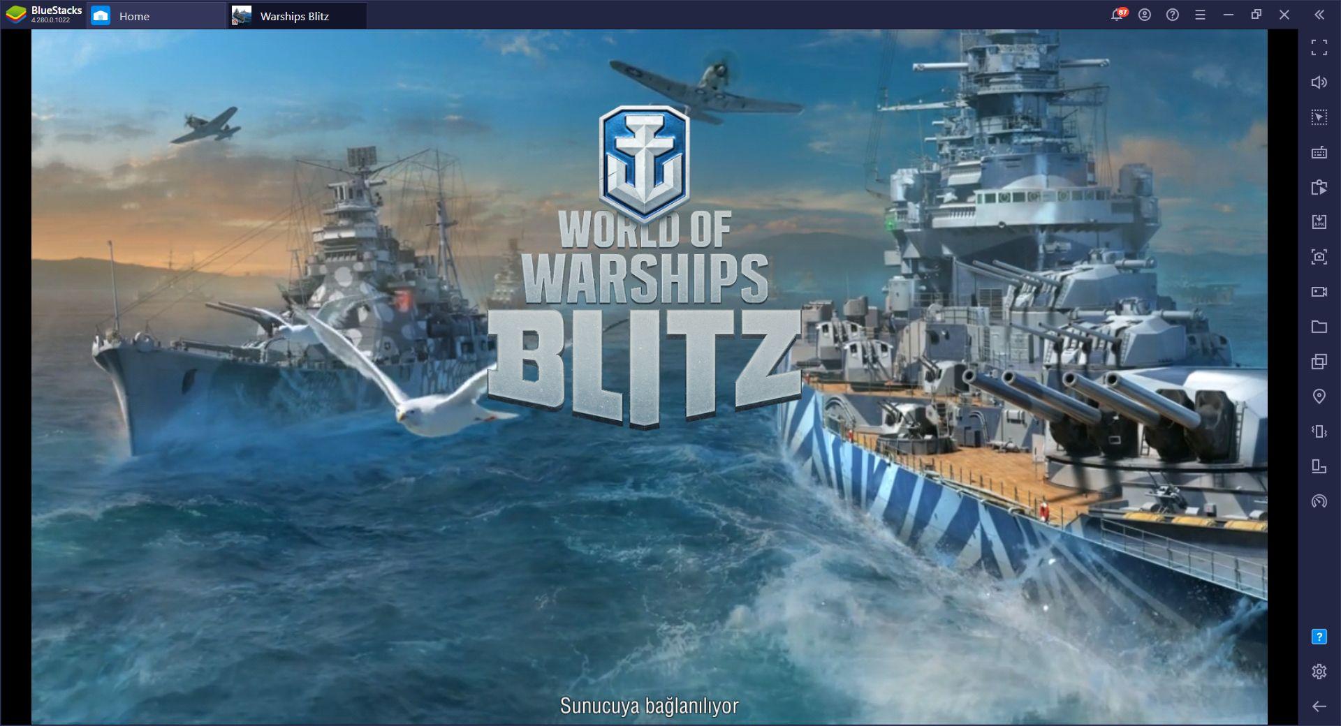 BlueStacks ile World of Warships Oynayın