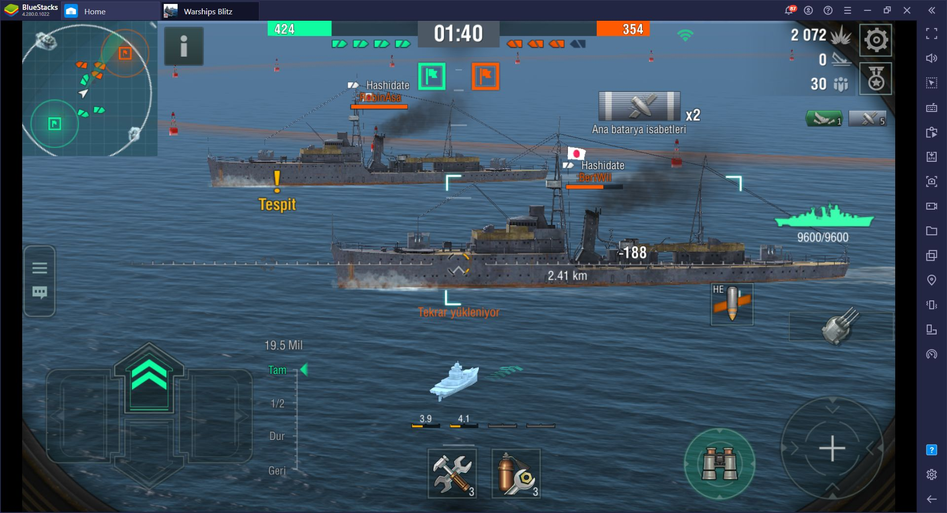 World of Warships Blitz: Android Platformundaki En İyi Deniz Savaşı Oyunu
