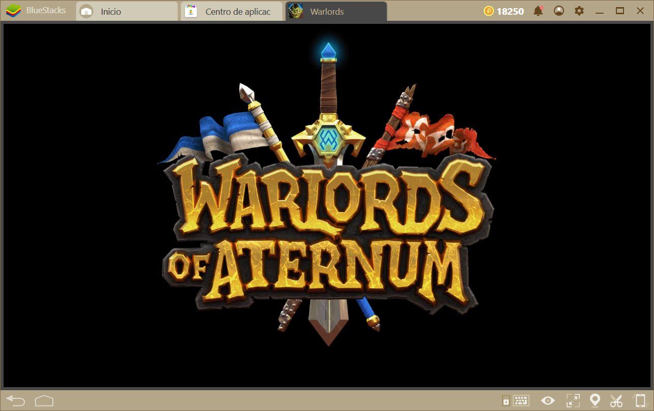 Comenzando tu Aventura en Warlords of Aternum