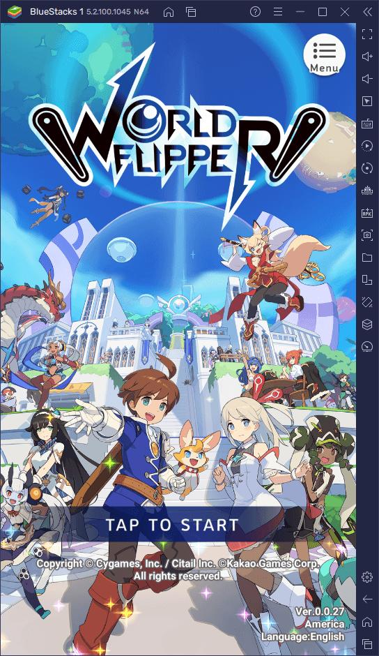 World Flipper – zmiana postaci