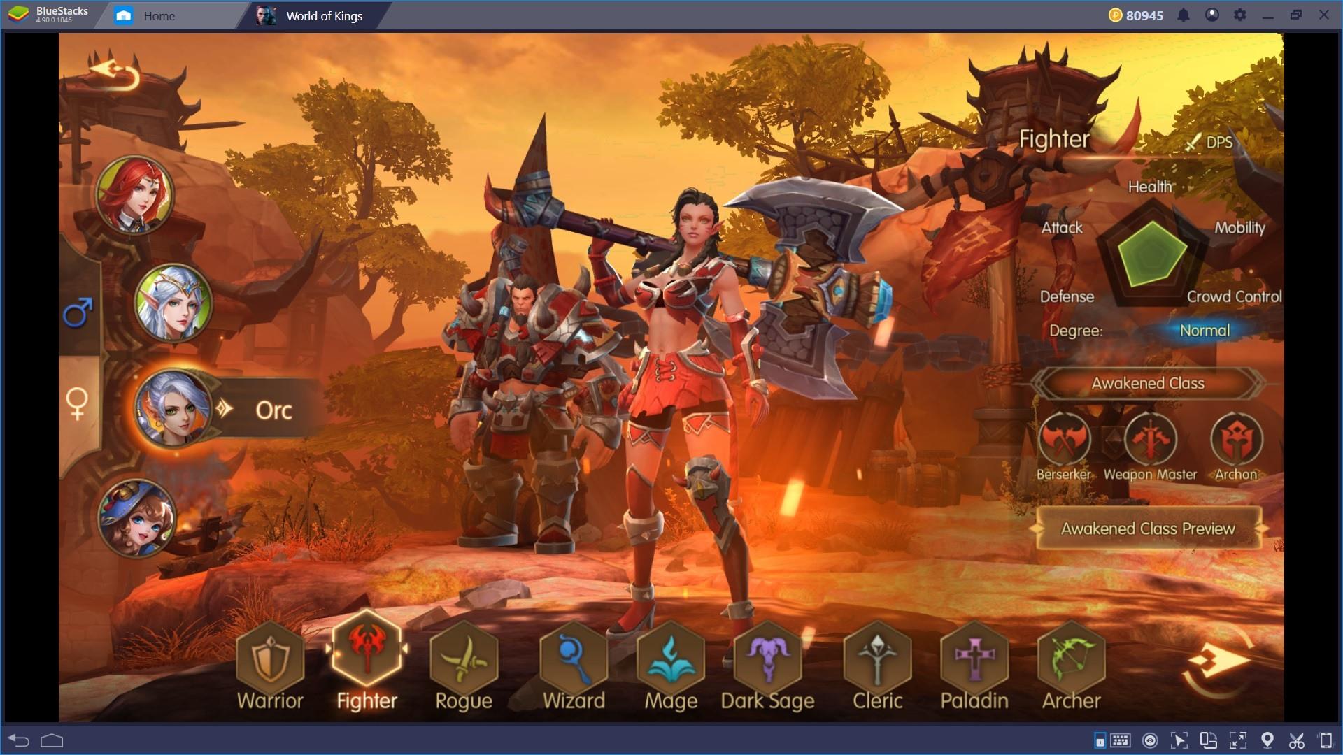Gioca a World of Kings, il nuovo ambizioso MMORPG e sfrutta tutti i vantaggi di Bluestacks!