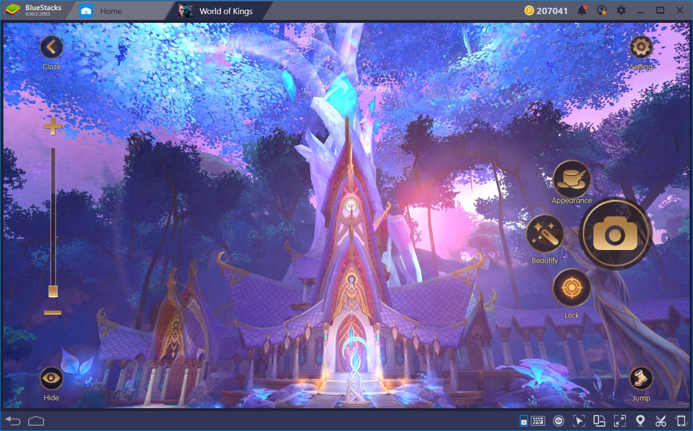 World of Kings on BlueStacks: Stunning UHD Graphics and