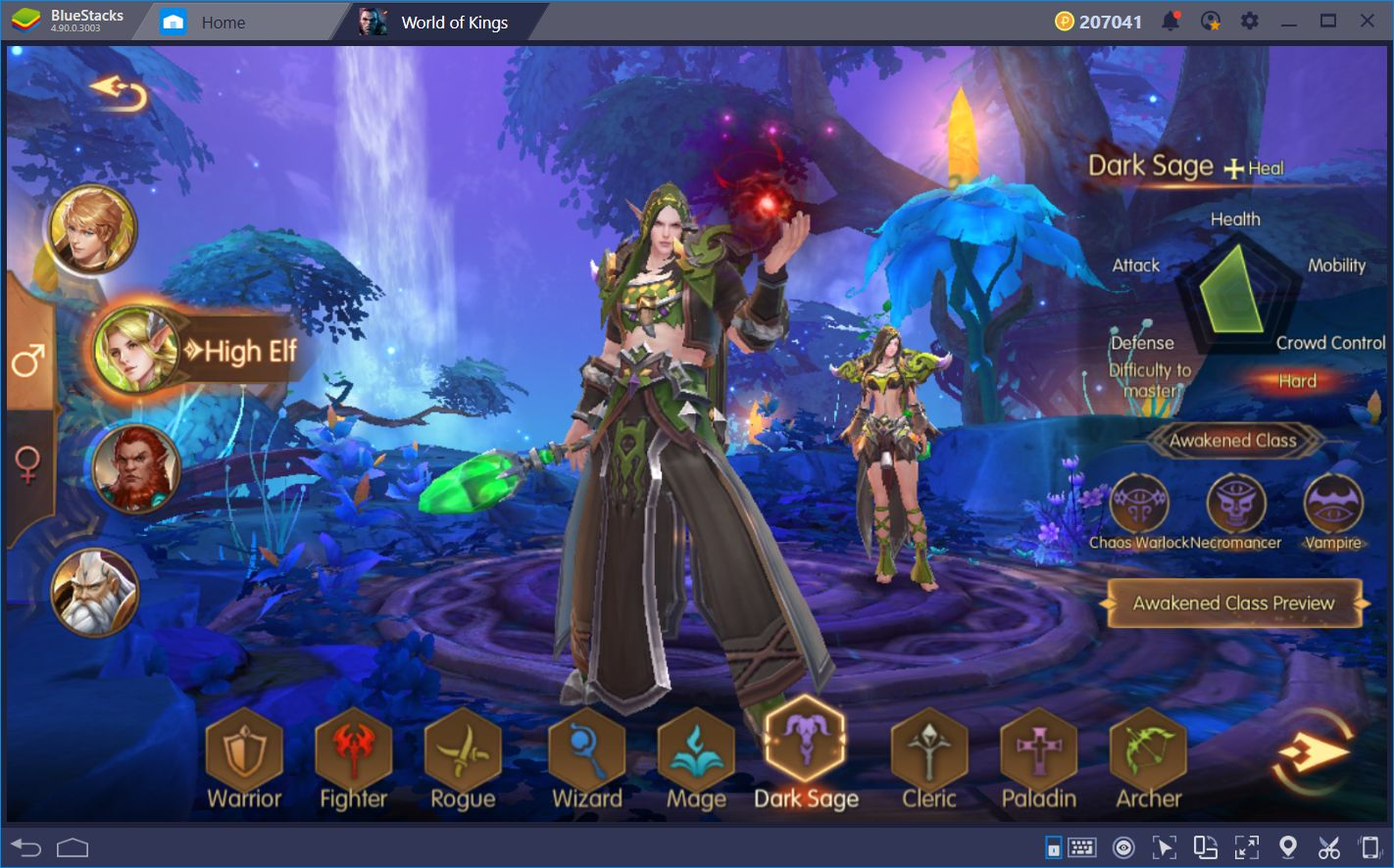 World of Kings: Like World of Warcraft, but on Android