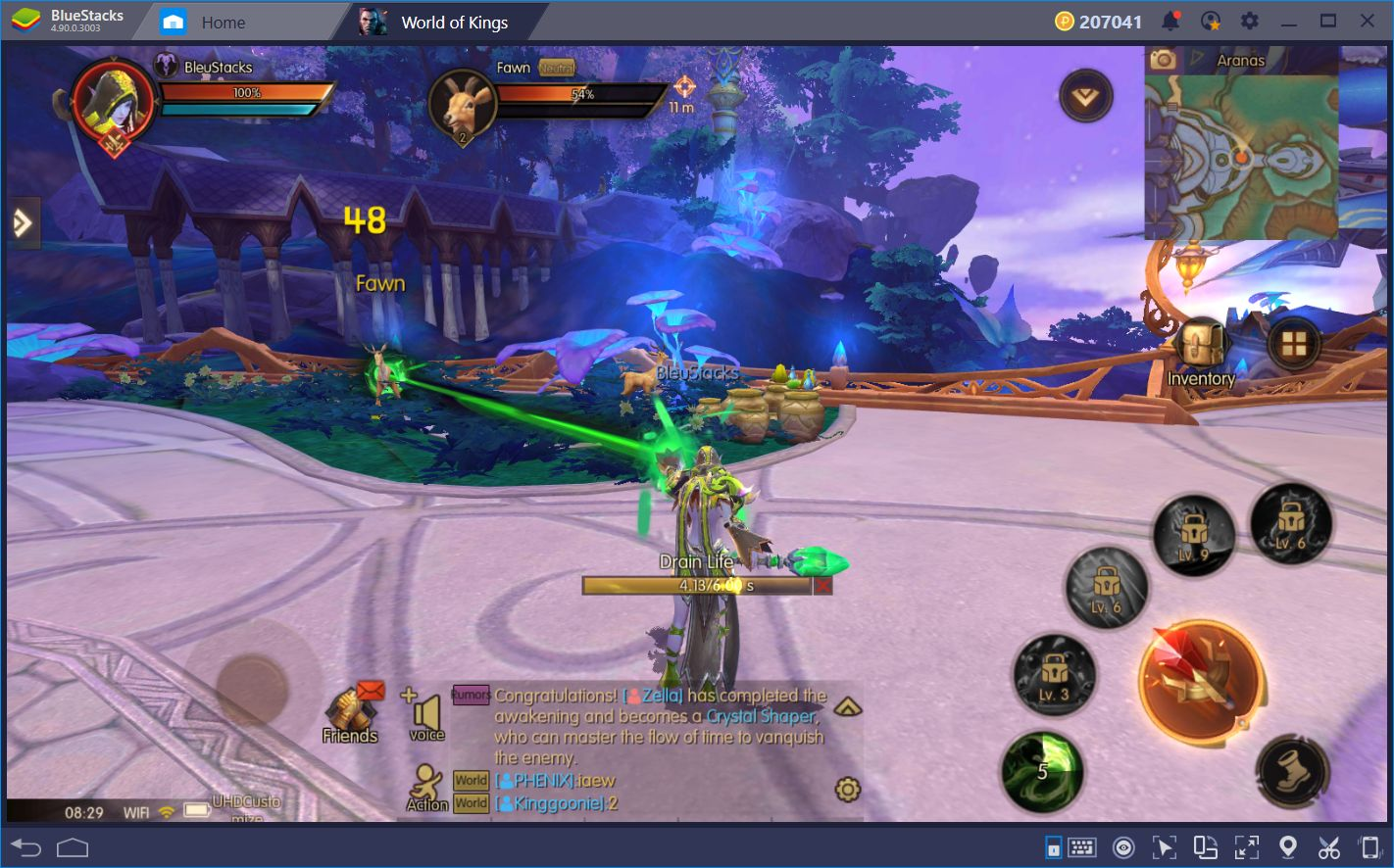 World of Kings: Como World of Warcraft, Pero en Android