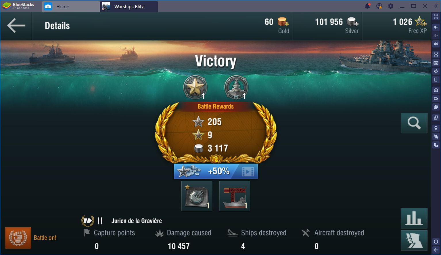 World of Warships Blitz: Nautical Domination With BlueStacks