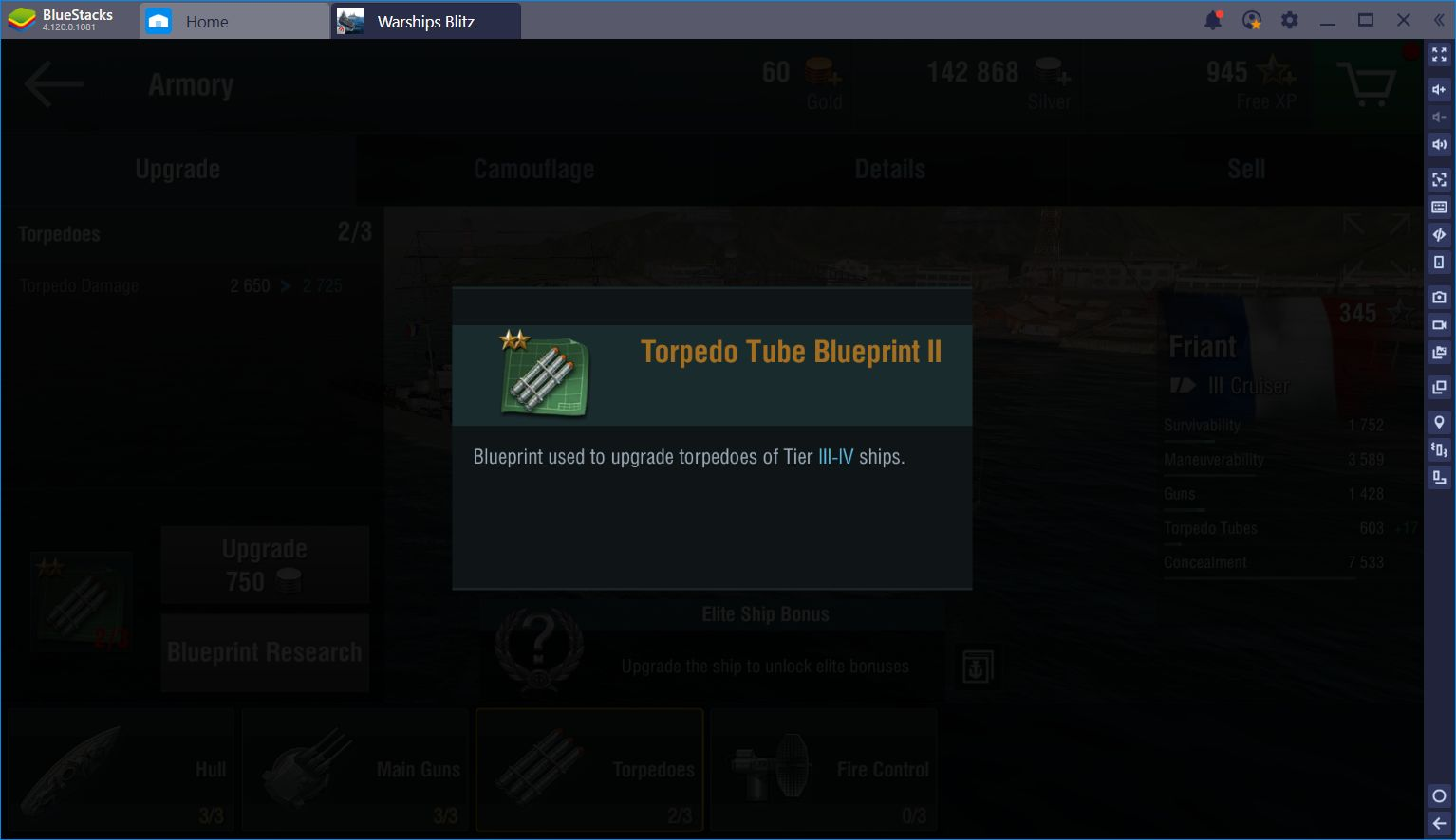 A Glance at the Upgrade System in World of Warships