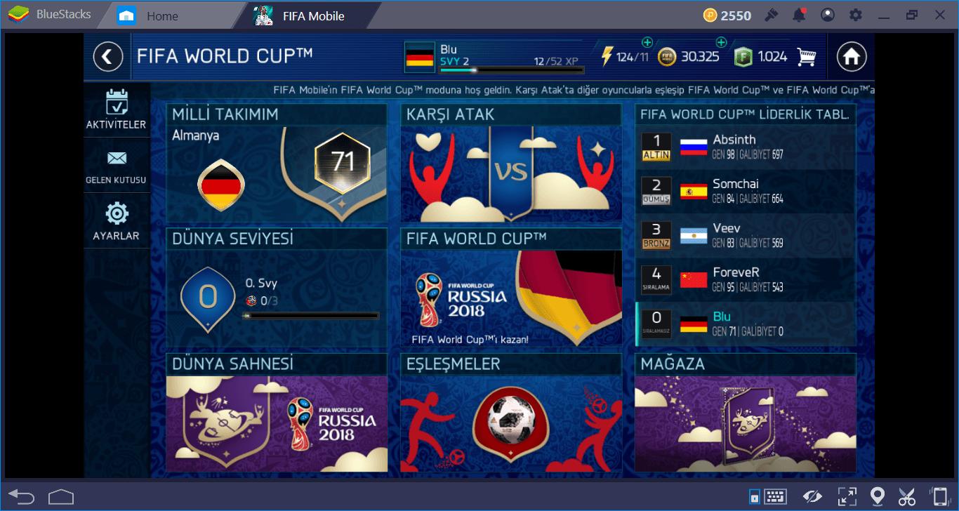 FIFA Futbol: FIFA World Cup (FIFA Mobile) Oynarken İşinize Çok Yarayacak İpuçları